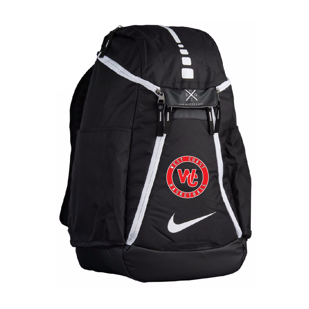 afbedf70d9a ... nike elite max air team backpack with wc embroidery west coast lv  nike  hoops ...